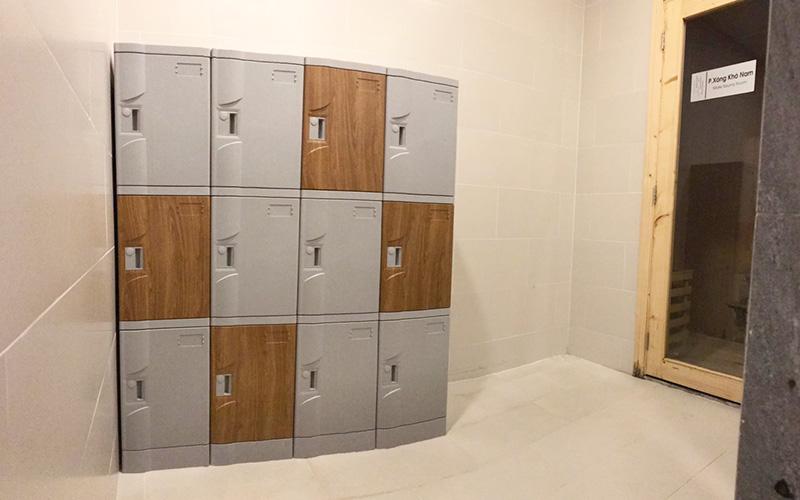 Tủ locker ABS đặt tại An Gia Skyline