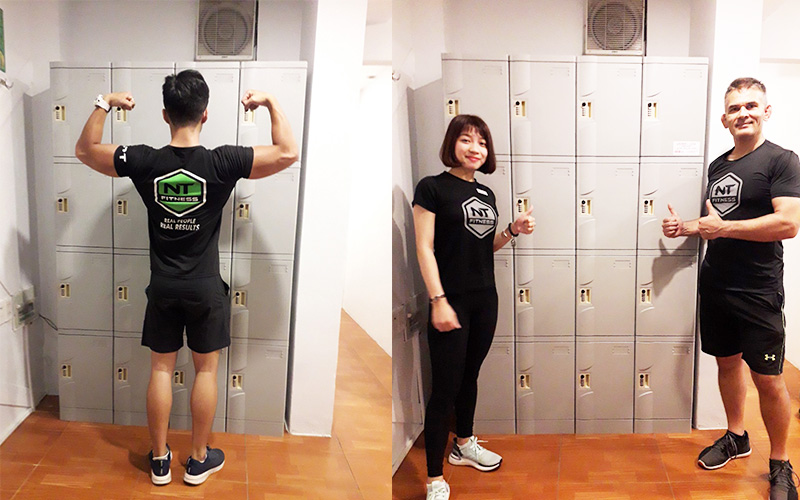 Image result for tủ locker sắt tâp gym
