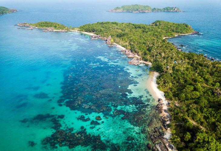 Toàn cảnh đẹp của đảo Hòn Thơm