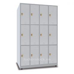 Tủ locker sắt N3 12 cửa 4 cột