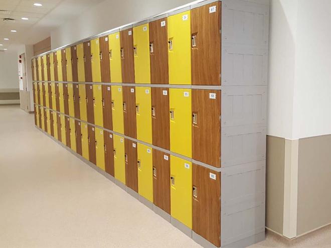 Tủ locker ABS cho khối đại học