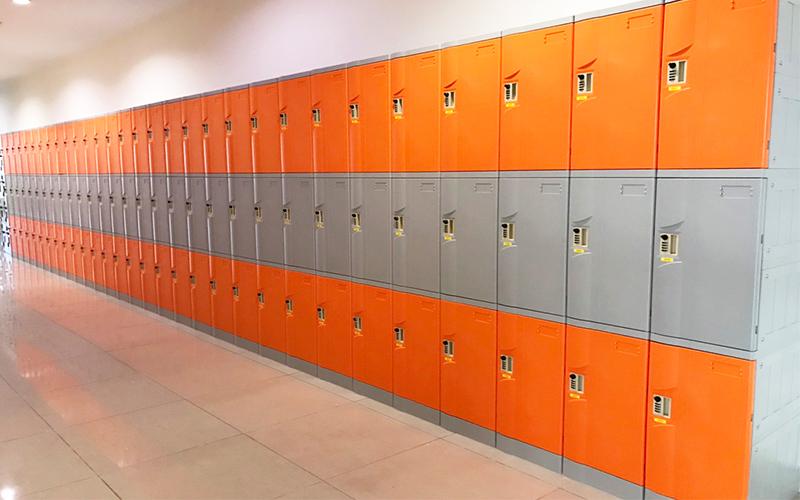 Tủ locker thư viện