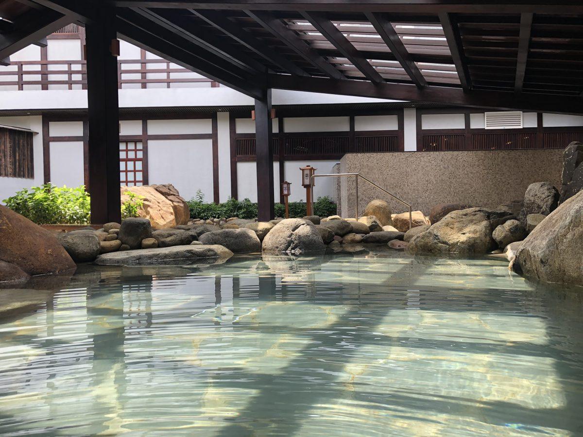 Khu tắm Onsen