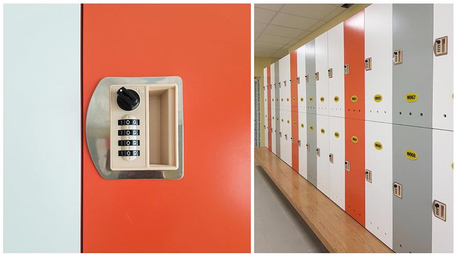 tủ locker ABS kết hợp khóa số
