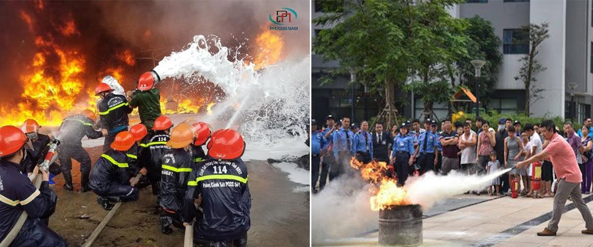 hình ảnh phòng cháy